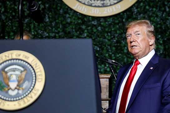 US bulk shootings: Trump condemns boring attacks along with appreciation