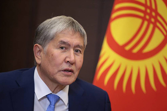 Former Kyrgyz president arrested until August 26 — lawyer
