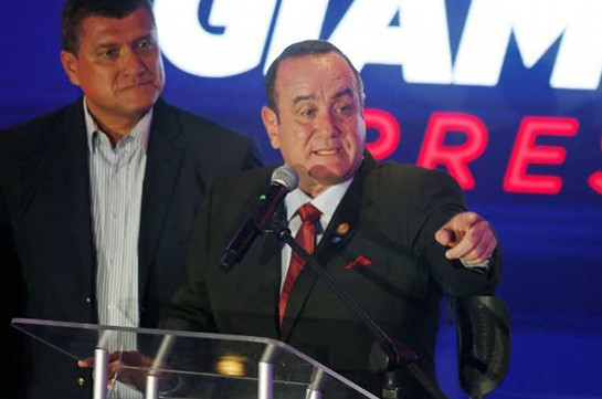 Conservative Alejandro Giammattei wins Guatemalan presidency