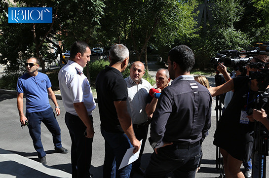 Kocharyan's supporters hand letter with demands to Supreme Judicial Council