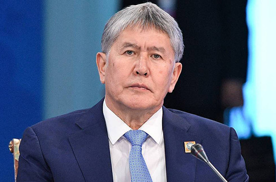 Kyrgyz ex-president charged with special forces soldier's murder