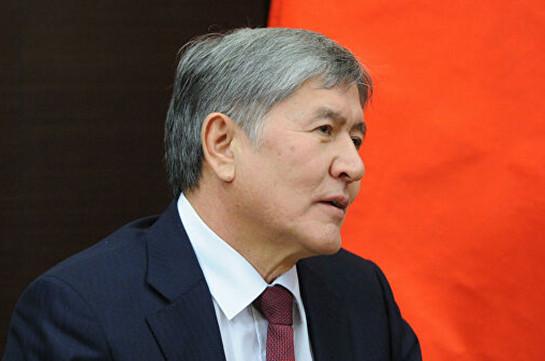 Суд по избранию меры пресечения Атамбаеву пройдет в здании спецслужб