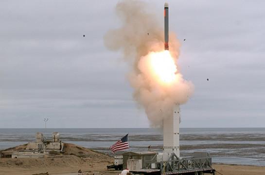 Пентагон опубликовал видео запуска ракеты, запрещенной ДРСМД (Видео)