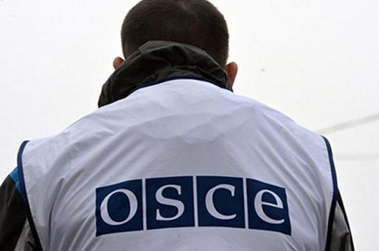 Мониторинг ОБСЕ прошел в соответствии с намеченным графиком