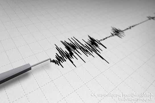 На севере Армении произошло землетрясение
