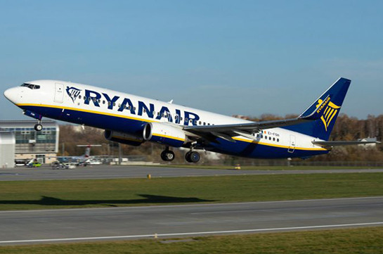 Ryanair начнет выполнять рейсы из двух аэропортов Грузии