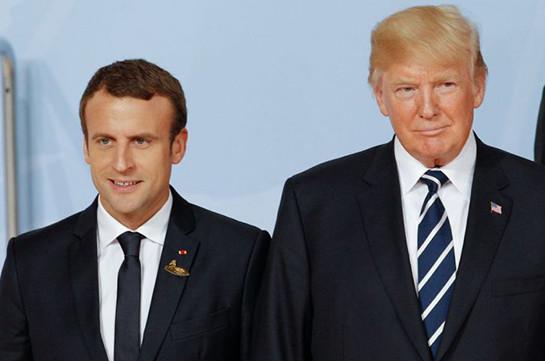 Թրամփն ու Մակրոնը պայմանավորվել են Ռուսաստանին G7 հրավիրելու վերաբերյալ