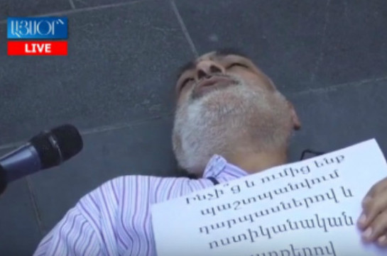 Ի՞նչ վտանգ է սպառնում, որ պետք է ԱԺ դապասները փակենք, ոստիկանական շարքեր կանգնեցնենք. Վարդգես Գասպարի