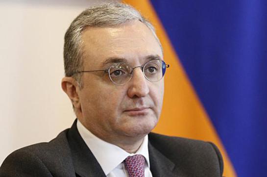 Переговорный процесс не приостановлен – Зограб Мнацаканян