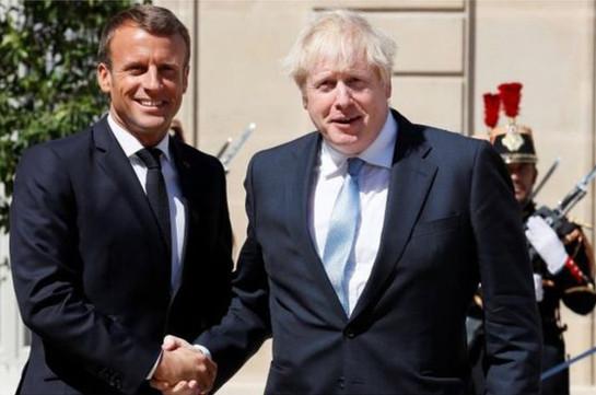 Brexit: Backstop indispensable, Macron tells Johnson