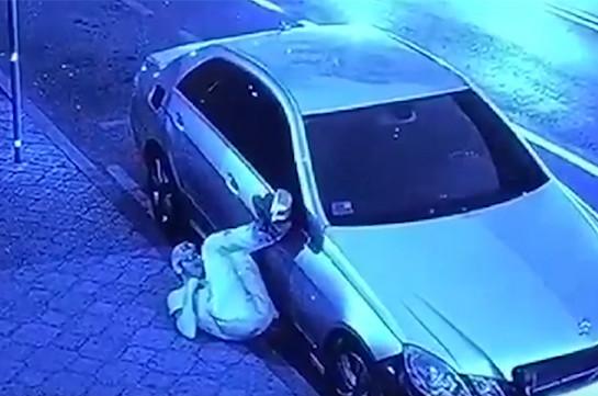 Ոստիկանները բացահայտել են դիվանագիտական ծառայության մեքենայից կատարված գողությունը (տեսանյութ)