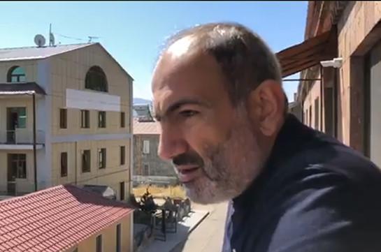 Никол Пашинян прибыл в город Джермук