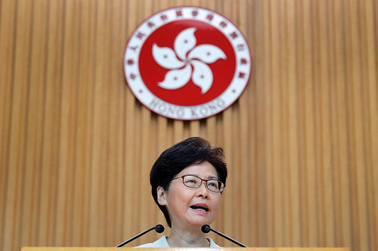Hong Kong aggression appropriate add serious, bar authority all the rage control, says Lam
