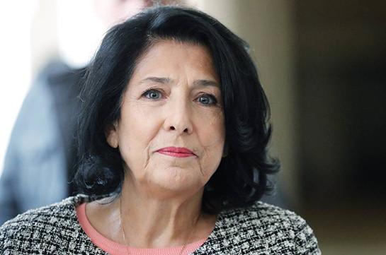 Վրաստանի նախագահը նշել է Ռուսաստանի հետ երկխոսության վերսկսման պայմանները