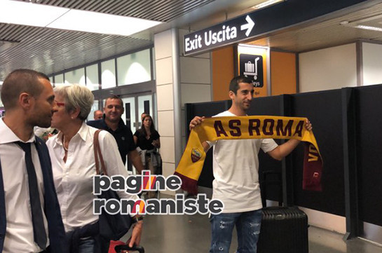 Henrikh Mkhitaryan to join Roma in loan with option to buy (photos, video)
