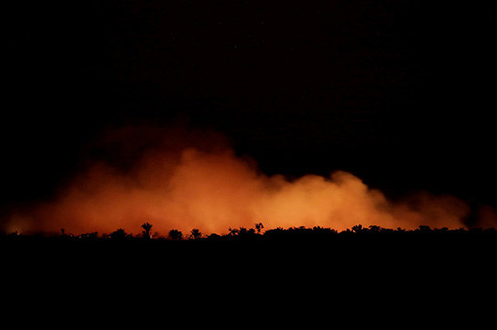 Amazon fires: Jair Bolsonaro en route for escape apex designed for consulting room