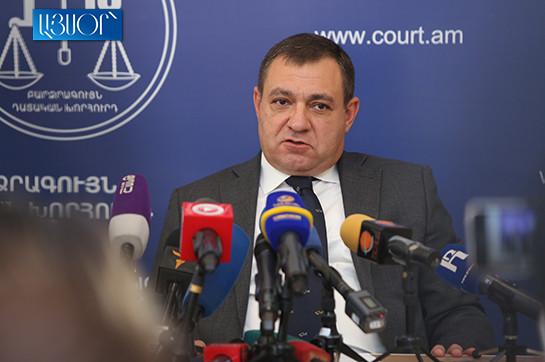 Председатель, члены и судьи Высшего судебного совета непременно пройдут процесс проверки добропорядочности – Рубен Вардазарян