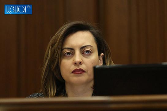 В парламенте начинаются работы по разработке изменений в Избирательный кодекс – Лена Назарян