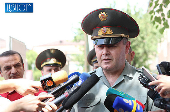 Chief of General Staff of Armenia's Armed Forces assesses situation on border as stable-calm