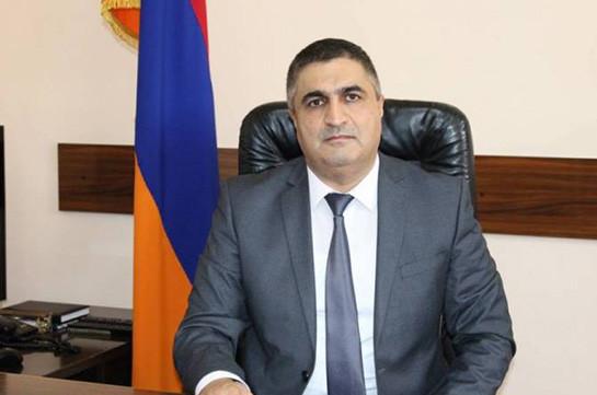 Премьер освободил от работы заместителя председателя Следственного комитета Армении