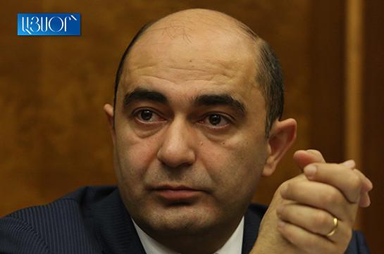 Призыв к разблокированию ведущих к Амулсару дорог должен быть обоснованным – Эдмон Марукян