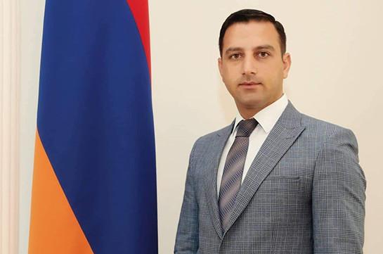 Ваагн Бояджян назначен начальником пресс-центра СНБ