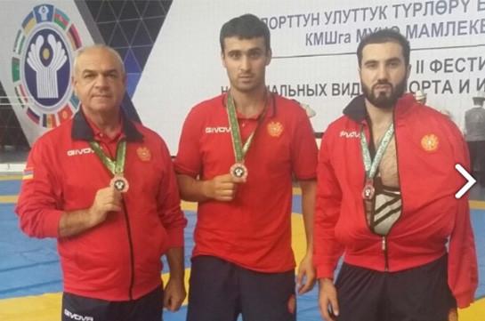 Հայ մարզիկները Ղրղզստանում նվաճել են երկու մեդալ
