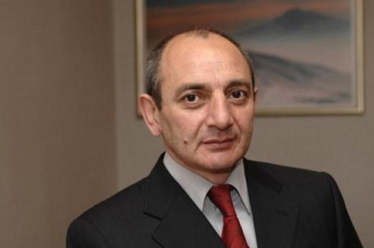 Բակո Սահակյանը շնորհավորական ուղերձ է հղել Աբխազիայի նախագահ Ռաուլ Խաջիմբային