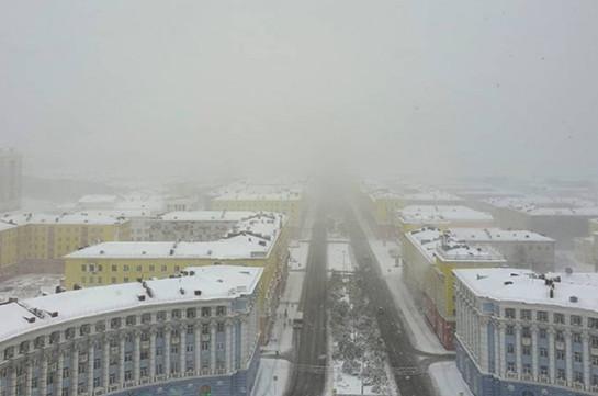 Առաջին ձյունը տեղացել է Նորիլսկում