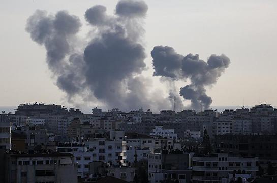 Израиль нанёс удары по сектору Газа в ответ на обстрел