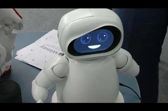 Робот научит математике (Видео)