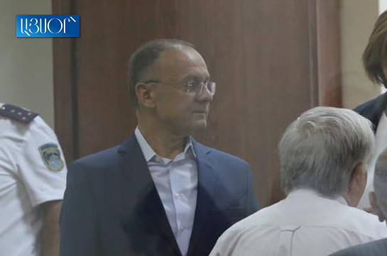 March 1 trial kicks off, ex-DM urges change of Kocharyan's preventive measure