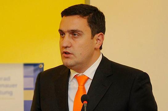 Национальное Собрание не имеет права выражать политическую позицию о решении Конституционного суда – Артур Казинян