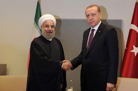 Эрдоган и Роухани встретились перед началом саммита по Сирии