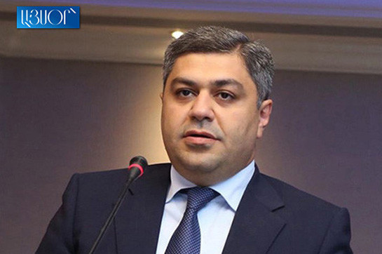citizen collateral assistance boss Artur Vanetsyan en route for give notice