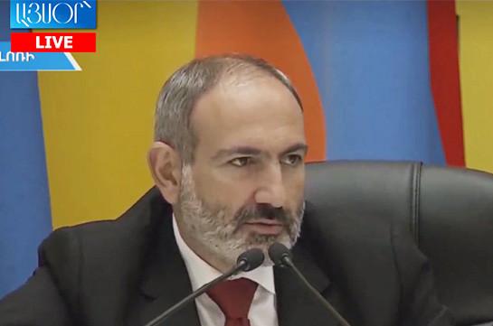 Bigger nonsense than my arrangement with ex-president Serzh Sargsyan is hard to imagine: Pashinyan