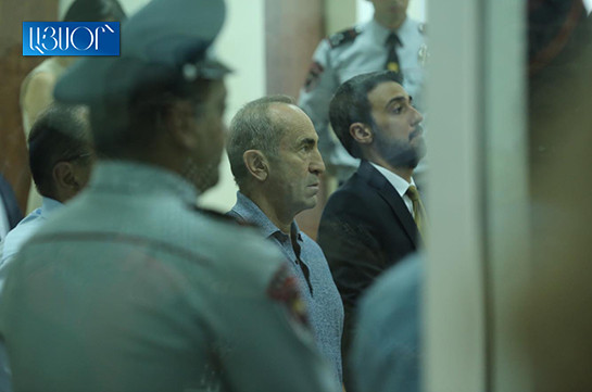 I am not the fleeing type: Kocharyan on release for bail