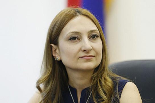 Не могу сказать, что стало основанием для перевода с одной должности на другую – Лилит Макунц о назначении Валерия Осипяна