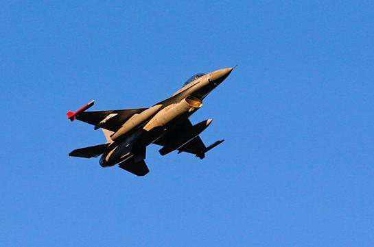 Во Франции потерпел крушение бельгийский истребитель F-16