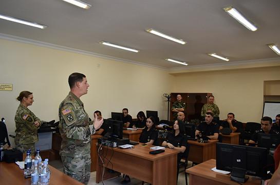 Ամփոփվել է ՀՀ ՊՆ ՌՈ խաղաղապահ դասակի զինծառայողների մեկշաբաթյա դասընթացը