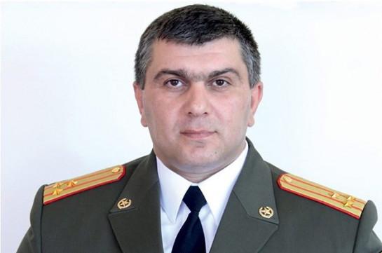 Армен Саркисян присвоил звание генерал-майора сыну Юрия Хачатурова