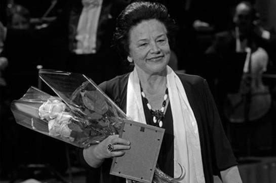 Մահացել է ԽՍՀՄ ժողովրդական արտիստուհի Իրինա Բոգաչովան
