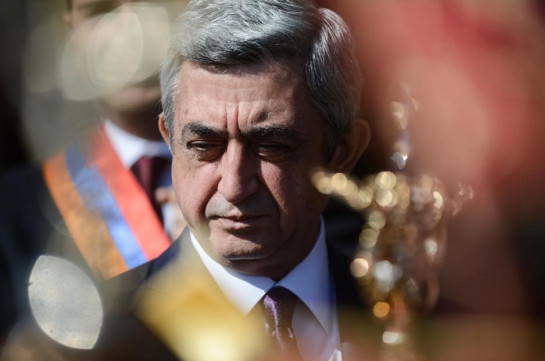 Dividing own people dangerous than a bullet shot by enemy: Serzh Sargsyan congratulates compatriots on 28th anniversary of Armenia's independence