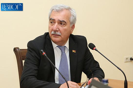 Hayk Harutyunyan was central bystander all the rage demo 1 case: Andranik Kocharyan