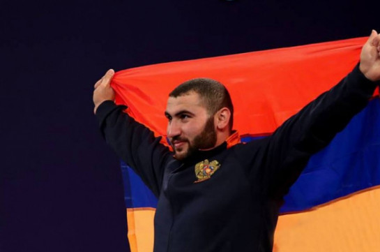 Armenian weightlifter Simon Martirosyan becomes double world champion
