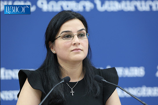 Formulations of official Kiyev about Nagorno-Karabakh conflict do not contribute to peaceful settlement process: Armenia's MFA spokesperson