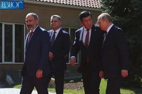 Կրկնակի ուրախ ենք, քանի որ ԵԱՏՄ նիստին մասնակցելու են Իրանի և Սինգապուրի առաջնորդները. Նիկոլ Փաշինյան