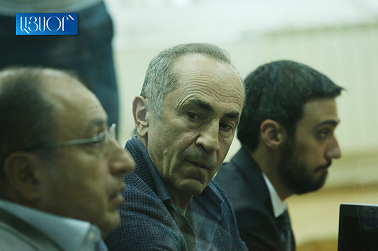 ask for of application leaves the appeal of Robert Kocharyan's lawyers devoid of concern