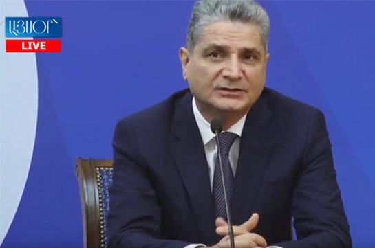 EAEU agrees upon concept of common financial market: Tigran Sargsyan