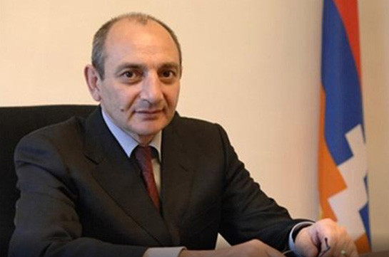 Bako Sahakyan congratulates teachers on the Day of Teachers